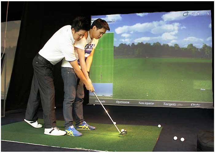 Golf Indoor Lessons - Indoor facility