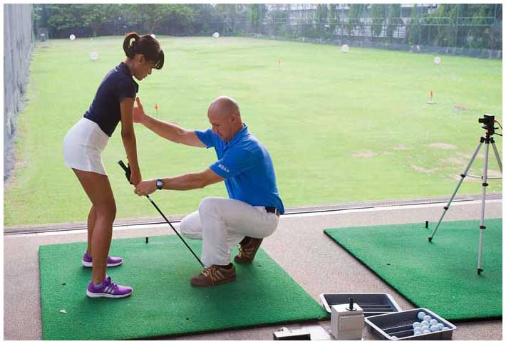 Tee Off Center swing analysis